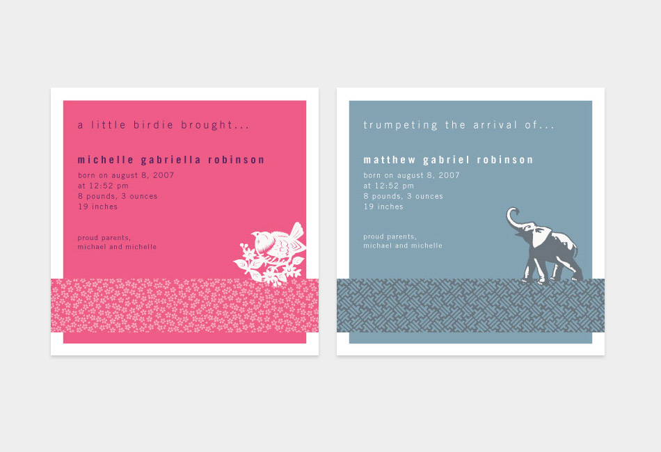 Tea Collection Cards for Tiny Prints
